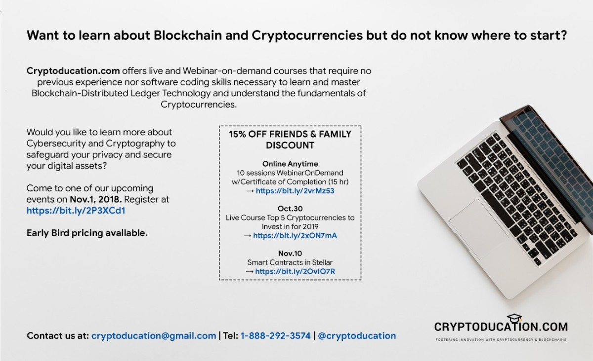 Cryptocurrency Advertisement
