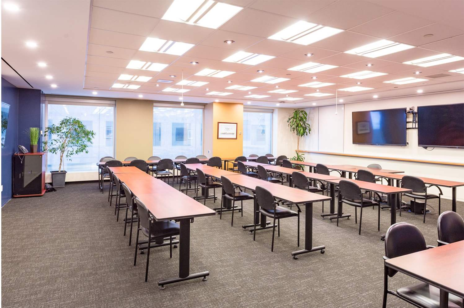 Rainy Lake Meeting Room Classroom layout