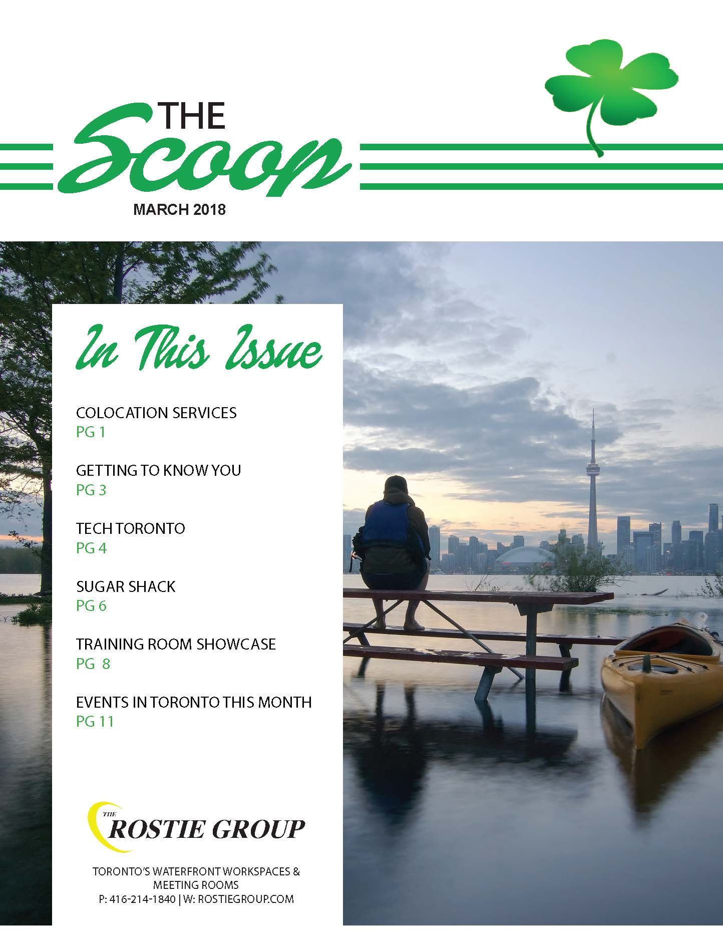 Winter Rostie Group Scoop March 2018 Scoop Cover