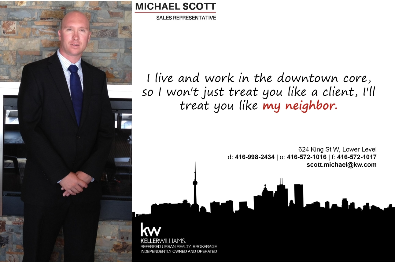 Michael Scott Rostie Group Scoop Advertisement