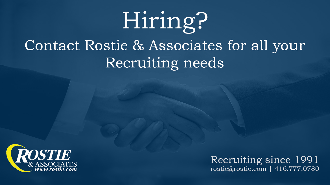 Rostie and Associates Advertisement