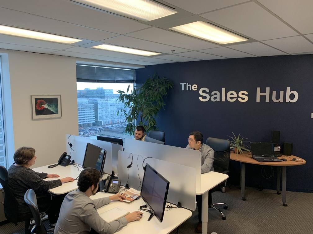 Rostie Group Coworking Sales Hub