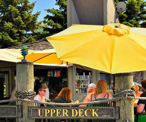 Upper Deck Bar Toronto Island