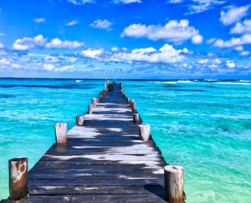 work virtually pier beach