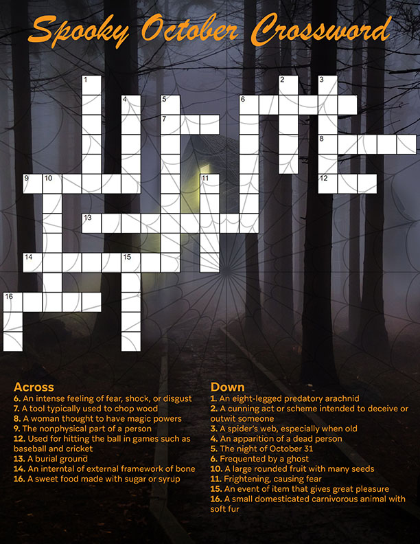 Rostie Group Scoop October Crossword