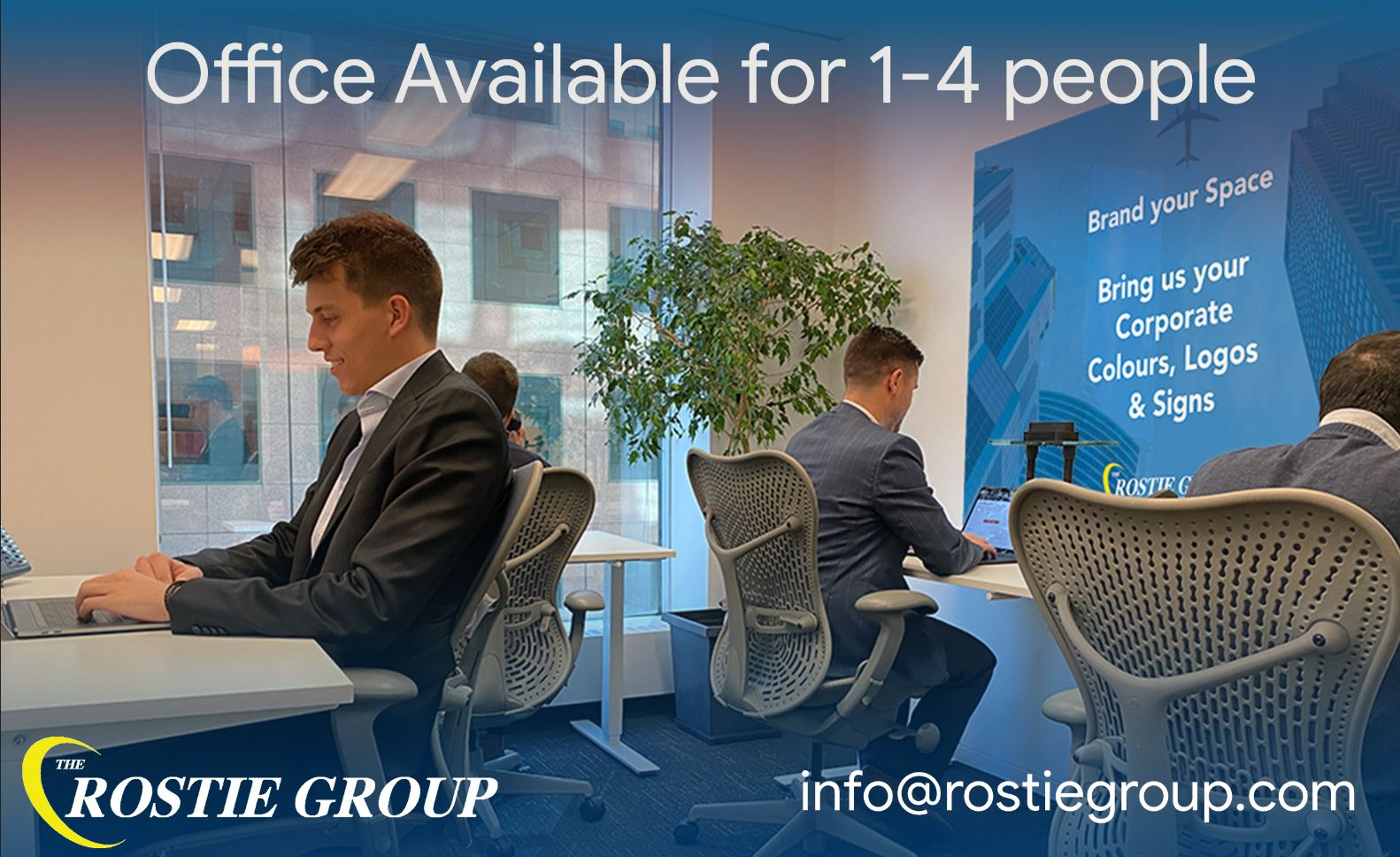 Rostie Group Available Offices Ad
