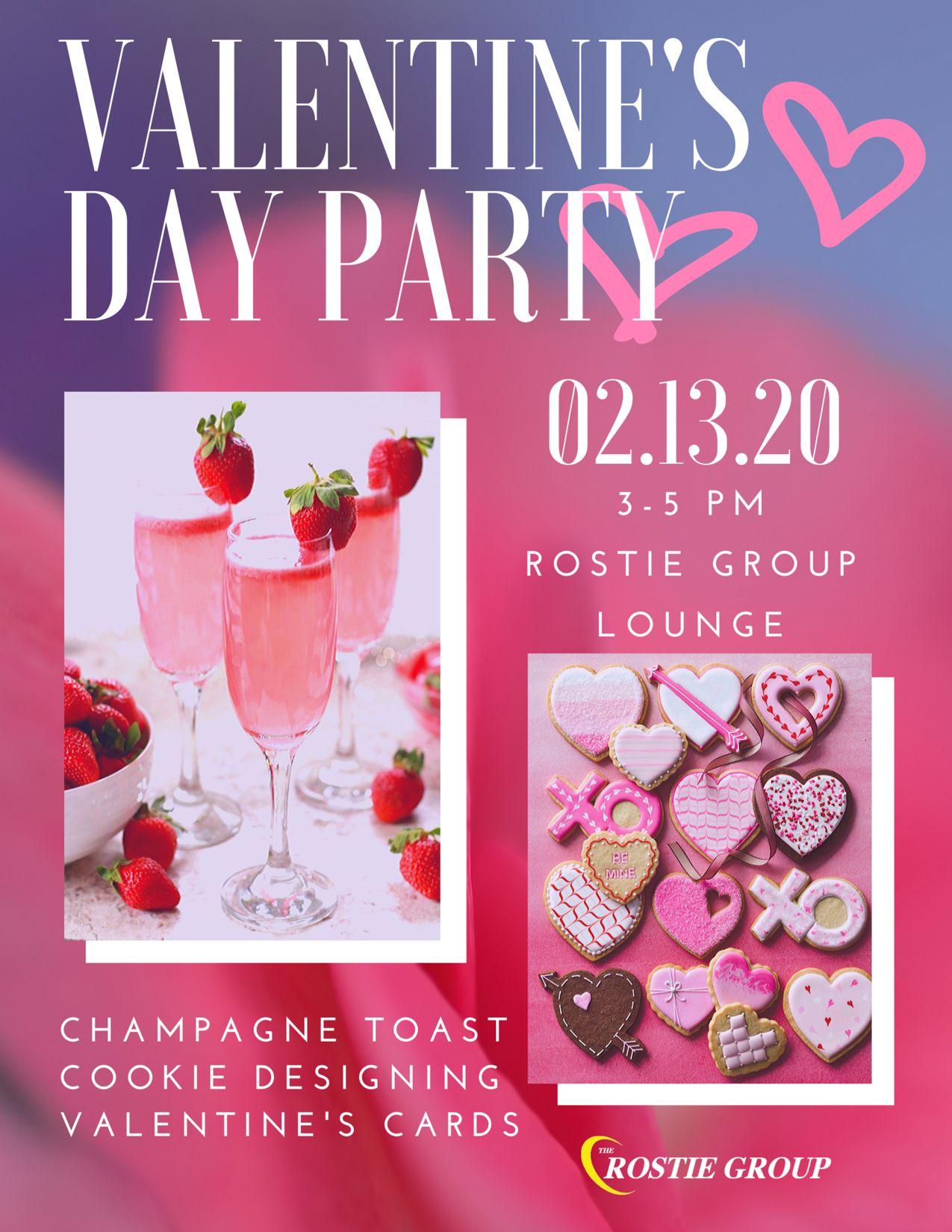 Valentine's Day Rostie Group Scoop February 2020